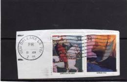 USA - STATI UNITI 2001  AMERICAN ILLUSTRATORS EDWIN AUSTIN ABBEY - HOWARD PYLE - ILLUSTRATORI STATUNITENSI USED - Usati
