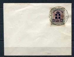 Greece 1936 High Value 15 Dr Kingdom Back On Cover - Greece