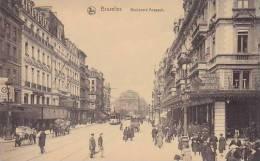 Belgium Bruxelles Boulevard Ansoach - Lanen, Boulevards