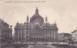 Belgium Anvers La Gare Centrale Facade Principale - Antwerpen