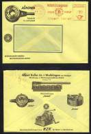 OUTILS - OUTILLAGE / 1959 ALLEMAGNE WAIBLINGEN  EMA SUR LETTRE  (ref 3323) - Berufe