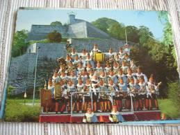 BELGIQUE -NAMUR - FOLKLORE NAMUROIS -  ORCHESTRE DES 40 MOLONS DE LA STE ROYALE MONTCRABEAU - 1843 - CPSM VIERGE - Belgique
