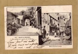 LE MONT ST MICHEL RESTO POULARD JEUNE  EDIT  A WARON ST BRIEUC   CIRC  1904 - Le Mont Saint Michel