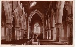 BODELWYDDAN CHURCH - THE NAVE EAST - DENBIGHSHIRE - WALES - Denbighshire