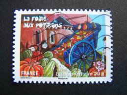 OBLITERE FRANCE ANNEE 2011 N°584 FETES ET TRADITIONS DE NOS REGIONS FOIRE AUX POTIRONS ET LEGUMES RARES DE TRANZAULT - France
