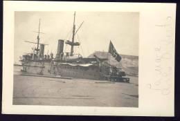 "La Nave "" CARLO ALBERTO ""     Ship  Schiffe       Old Postcard - Warships"