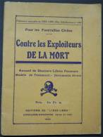 """1926  Libres Penseurs """"Contre Les Exploiteurs De La Mort"""" Pour Les Funérailles Civiles Postage Inclus Pour La France - Religion & Esotericism"""