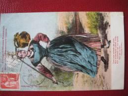 Anciens Costumes Normands, Manche, Laitière Des Environs De Coutances - Coutances