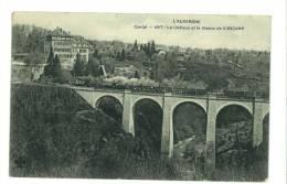 15 - Chateau Et Viaduc De Viescamp - Otros Municipios