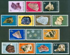 1974 Botswana Minerali Minerals Minèraux Set MNH** Fo167 - Minerals