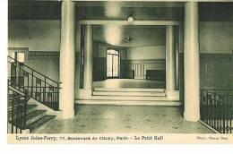 PARIS 9° -LYCEE JULES FERRY - 77 Boulevard De Clichy  Le Petit Hall  -PAYPAL SANS FRAIS - Schools