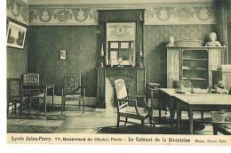 PARIS 9 ° -LYCEE JULES FERRY - 77 Boulevard De Clichy - Le Cabinet De La Directrice - PAYPAL SANS FRAIS - Schools