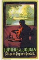 Carte Publicitaire- Lumière & Joucla -Plaque, Papiers, Produits - Publicité