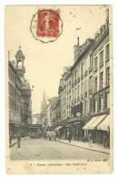 CAEN(14)1913-rue Saint-Jean-animée - Caen