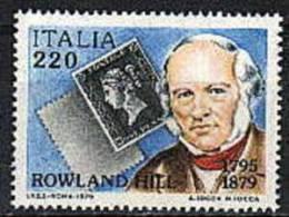 1979 - Italia 1480 Rowland Hill - Rowland Hill
