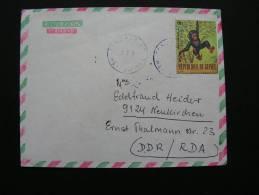 ==  Guinea, Brief  Affe .. - Guinea (1958-...)