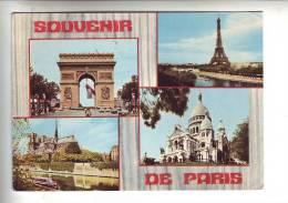 10 Cartes  De  PARIS  Toutes Scanées - Cartes Postales