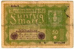 BILLET ALLEMAGNE - EMPIRE - P.66 - 50 MARK - 1919 - [ 2] 1871-1918 : Imperio Alemán