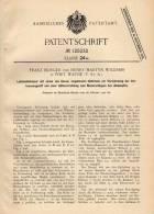 Original Patentschrift - F. Burger In Fort Wayne , USA , 1900 , Kessel Für Lokomotive , Lok , Eisenbahn , Dampflok !!! - Transport