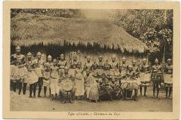 Feticheurs Du Togo Fetichism Filles Nues Orchestre Guerriers , Nude Girls, Band, Warriors - Togo