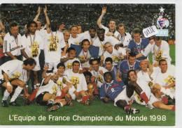 CPM GF - Football - Equipe De France De 1998 - Calcio