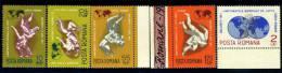 1967 Wrestling World Championship,Romania,Mi.2 613-2617,MNH - 1948-.... Republics