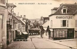 Orsay Le Guichet : Rue Boursier, Charcuterie, Café Martin. 2 Scans. Edition Neurdein - Orsay