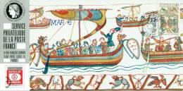 040 Carte Officielle Exposition Internationale Exhibition Hafnia FDC 1987 France Tapisserie De Bayeux Ship Boat Bateau - Textile