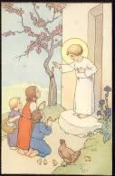 Old Postcard  Children  Kids  Christianity - Children
