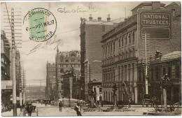 Melbourne  Postally Used  Victoria , Queen Street  Maximum - Melbourne
