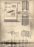 Original Patentschrift - Luftschiff , Flugobjekt , 1900 , Josef Grassl In Augsburg , Flugzeug !!! - Fliegerei