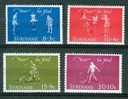 SURINAME 1964 NVPH 414-17 CHILD KIND ENFANT - Suriname ... - 1975