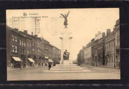 30687      Belgio,    Charleroi,  Avenue  De  Waterloo  Et  Monument  Aux  Martyrs,  VG  1926 - Charleroi