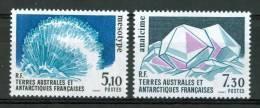 1989 TAAF Minerali Minerals Minèraux Set MNH** Fo180 - Minerals
