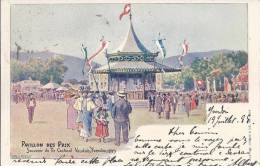 L421 - Souvenir Du Tir Cantonal Vaudois Yverdon 1899  Pavillon Des Prix - VD Vaud