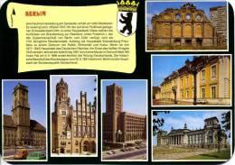 Deutschland - Berlin - Mehrbildkarte Mit Text - 1991 - Allemagne
