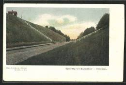 CPA Oldenzaal, Spoorweg B/d Kopperboer - Nederland
