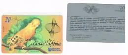 BRASILE ( BRAZIL) - TELEBRAS  - 1992 BIRDS: PARROT (GALO DA SERRA)  CMB   - USED  -  RIF. 2259 - Pappagalli