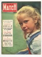 Paris Match 171 21/6/1952 Brigitte Fossey, 24 Heures Du Mans, Eva Peron - People
