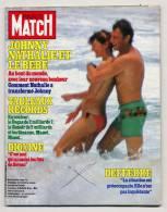 Paris Match 1775 3/6/1983 Johnny Hallyday Nathalie Baye Futur Bébé, John Wayne - Gente