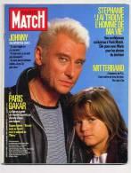 Paris Match 1967 6/2/1987 Johnny Hallyday, Stéphanie De Monaco, Paris Dakar, Michele Morgan - Gente