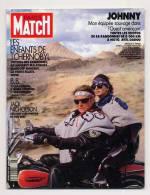 Paris Match 2137 10/5/1990 Johnny Hallyday, Jack Nicholson, Erté L'anchanteur, Le Mystère Iliescu, Brigitte Bardot - Gente