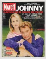 Paris Match 2663 8/6/2000  Johnny Hallyday Et Laeticia, Liban, Sierra Leone, Hugh Grant - Gente