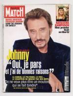 Paris Match 3005 21/12/2006 Johnny Hallyday, Mel Gison, Les Sdf, Marie Drucker - Gente