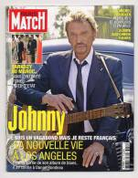 Paris Match 3050 31/10/2007 Johnny Hallyday, Sarkozy, Incendie Usa, Estelle Lefébure - Gente