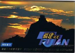 L-CH17 - CHINE Etui Avec 10 Cartes Entiers Postaux Pour La Poste Aérienne Paysages Du Fujian - Postcards