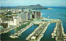 Hawaï     Waikiki From The Ilikai To Diamond Head . - Etats-Unis