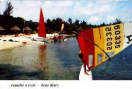 Île Maurice      Belle Mare. Windsurf . - Mauritius