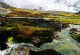 Divers      Ice Cave In Hrafntinnusker  . - Islande
