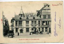Rouen  Hotel Du Bourgheroulde        Animée - Rouen